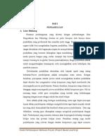 Pembelajaran berbasisProyek ( project based learning )