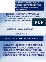 Mario Andrade Internal Controls and Risk Management Francais