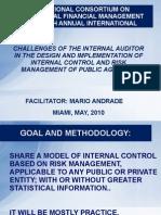 Mario Andrade Internal Controls and Risk Management English