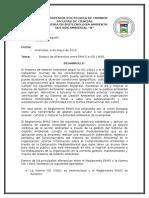 Ensayo Diferencias EMA's e ISO 14001