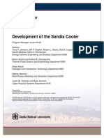 Development of Sandia Cooler SAND2013-10712