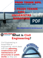 Profil Prodi Teknik Sipil Universitas Narotama Surabaya