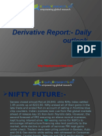 Derivatives Daily Out Look 06 June Equity Research Lab