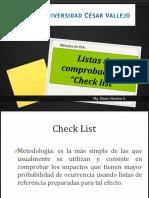 Metodo Chec List