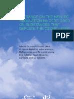 Ozon Guideline Uk