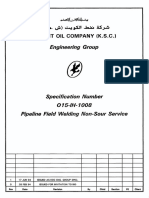 015-IH-1008 (Pipeline Field Welding Non-Sour Service)
