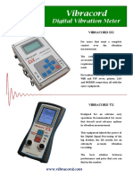 Vibrotech Brochure Ground Vibration DX TX
