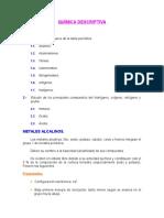Quimica Inorganica--conceptos Basicos  y Aplicaciones de Los Metales