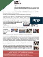 Vibrotech Training Brochure Catalogue