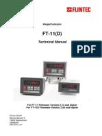 FT-11 FT-11D Technical Manual v.1.35 GB