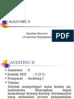 Auditing II Sap