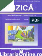 Fizica Manual Pentru Clasa a IX a Cleopatra Gherbanovschi