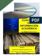 Cuaderno de Información Académica Eso 2016-17.