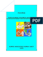 Pedoman Penyusunan Penyusunan Dokumen Akreditasi-2