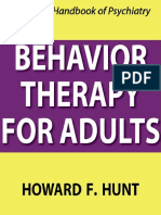 Behavior Therapy for Adults