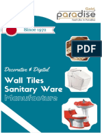 leading exporter of high quality sanitary ware