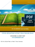 CIS 336 PAPERS Learn by Doing/cis336papers.com