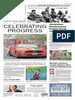 Asbury Park Press front page Monday, June 6 2016