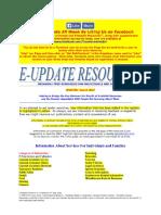 E-Update ResourcesTM - June 5, 2016