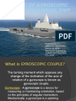 Effect of Gyroscopic Couple on a NAVAL SHIP