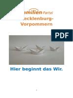 Wahlprogramm der Familienpartei Deutschlands