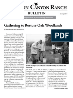 Audubon Canyon Ranch Bulletin, Spring 2010
