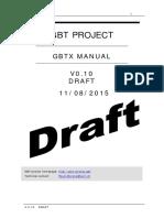 gbtx Manual