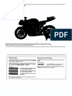 Hrc - 2007 Cbr600rr Set-up Manual