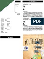 Youth Camp Program
