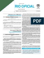 Diario oficial de Colombia n° 49.892. 02 de junio de 2016
