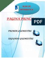Blog Camila - Informática