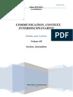 CCI 03 - Journalism