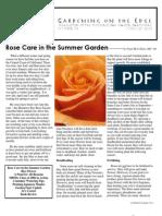 Gardening on the Edge Newsletter, June-July 2006 ~ Monterey Bay Master Gardeners