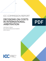 Decisions on Costs in International Arbitration (1)