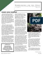 Gardening on the Edge Newsletter, May 2006 ~ Monterey Bay Master Gardeners