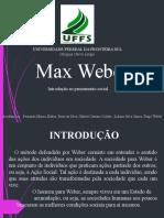 Max Weber Pronto (1)