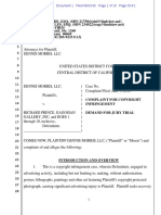 Dennis Morris v. Richard Prince, Gagosian Gallery - copyright complaint.pdf