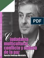 Ciudadanía multicultural, conflicto y cultura de la paz