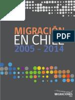 Anuario Estadístico Nacional Migración en Chile 2005 2014