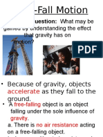 15 - free-fall powerpoint