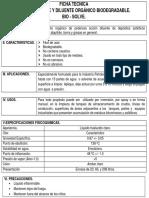 Ficha Tecnica Desengrasante y Diluente Organico