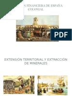 Situación Financiera de España Colonial