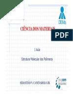 1 Aula CM PPG-CEM Estrut Molec Polimeros