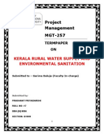 KERALA RURAL WATER SUPPLY AND ENVIORMENTAL SENITATION PROJECT--BY PRASHANT PRIYADARSHI