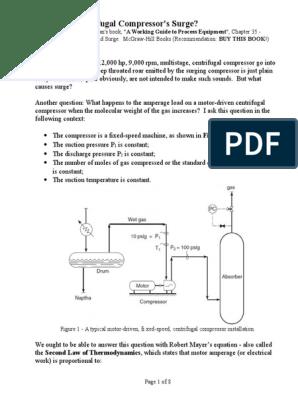 What is a Centrifugal Compressor Surge | Gas Compressor