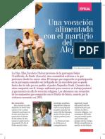 Vocacion Desde El Martirio Del p Sandro Dordi