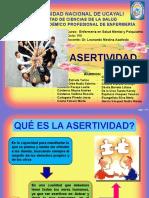 ASERTIVIDAD-DIAPOSITIVAS