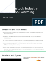 the livestock industry and global warming