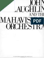Partituras John McLaughlin and the Mahavishnu Orchestra