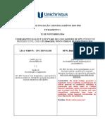 Fichamento i - Da Audiência de Instrução e Julgamento
